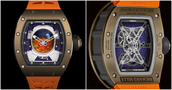 Richard Mille RM 52-05 Manual Winding Tourbillon Pharrell Williams (Price and Specifications)