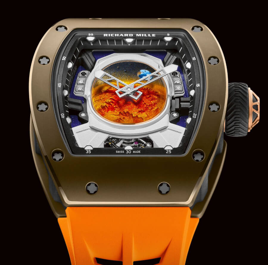 Richard Mille RM 52-05 Manual Winding Tourbillon Pharrell Williams
