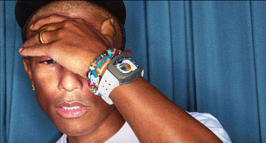 Pharrell Williams Watch Richard Mille