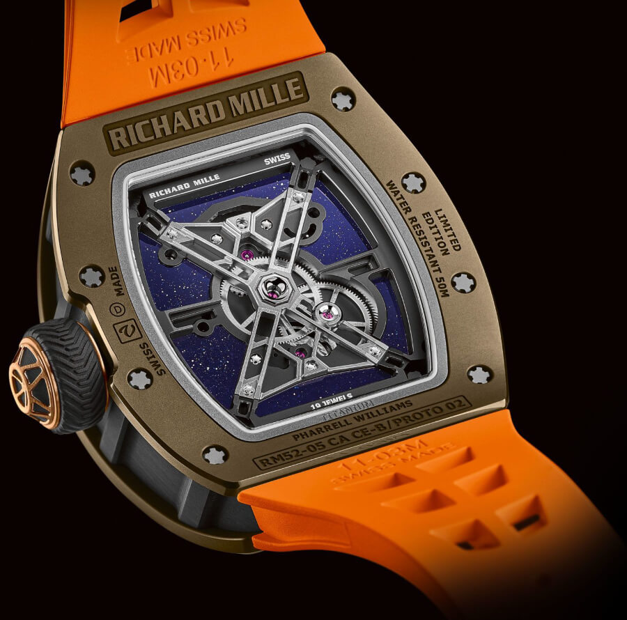 Richard Mille RM 52-05 Manual Winding Tourbillon Pharrell Williams Movement