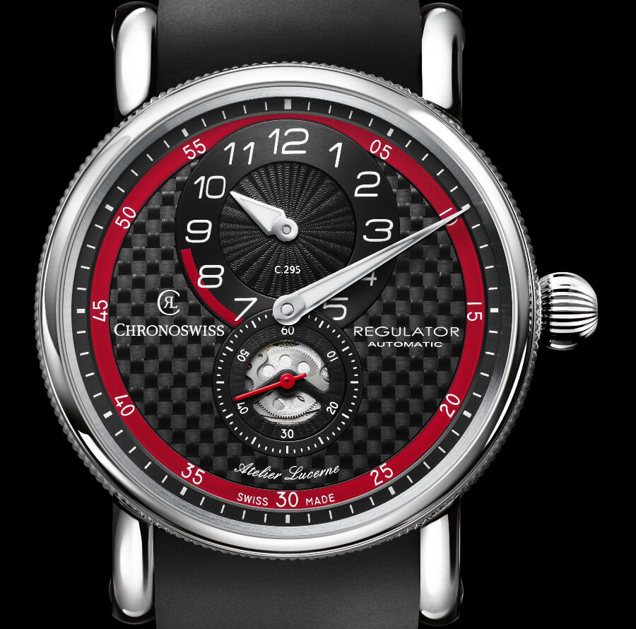 The New Chronoswiss Regulator Classic Carbon Racer