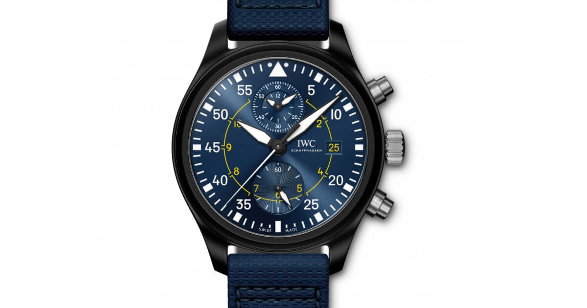 "IWC Pilot's Watch Chronograph Edition ""Blue Angels"" (Price, Pictures and Specifications)"