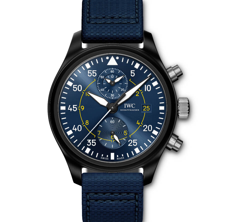 "IWC Pilot's Watch Chronograph Edition ""Blue Angels"""