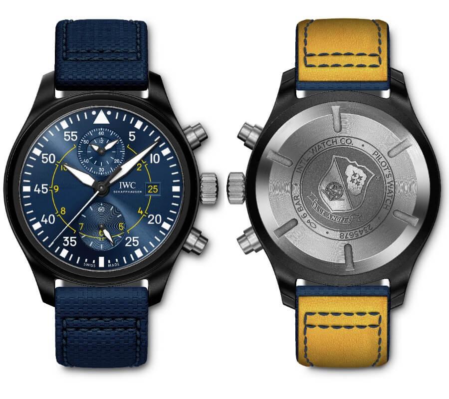 "IWC Pilot's Watch Chronograph Edition ""Blue Angels"""