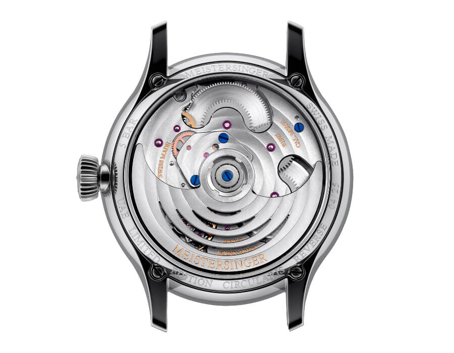 MeisterSinger Circularis Reverse Movement