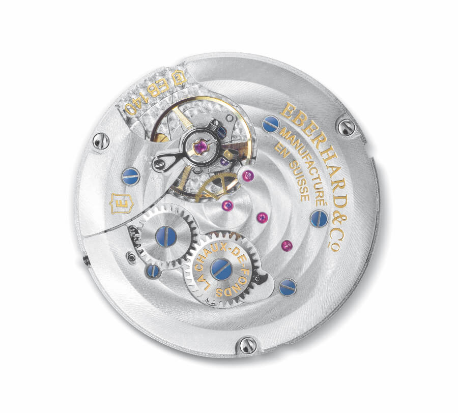 Eberhard & Co. Caliber EB 140 in house movement