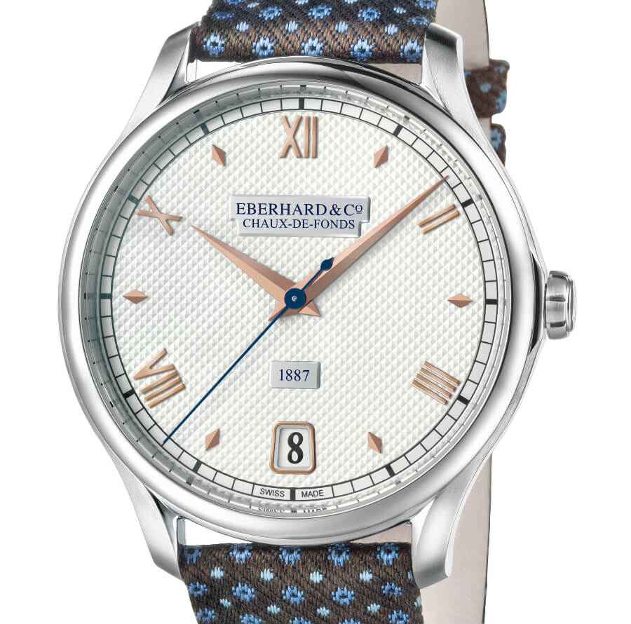 The New Eberhard & Co. 1887 Remontage Manuel