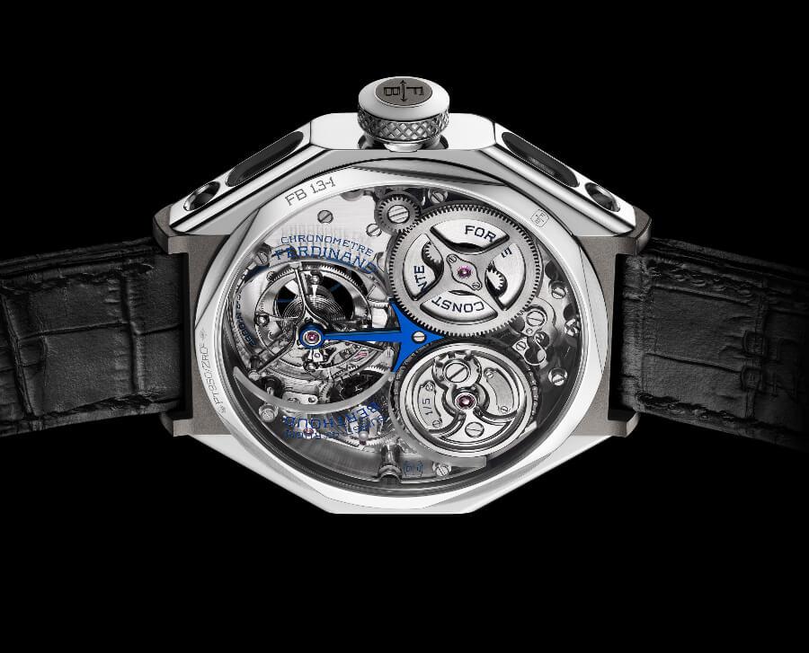 "Ferdinand Berthoud FB 1.3-1 ""Sapphire Blue"" Chronometre Movement"