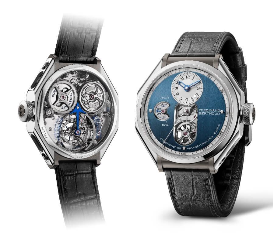 "The New Ferdinand Berthoud FB 1.3-1 ""Sapphire Blue"" Chronometre"