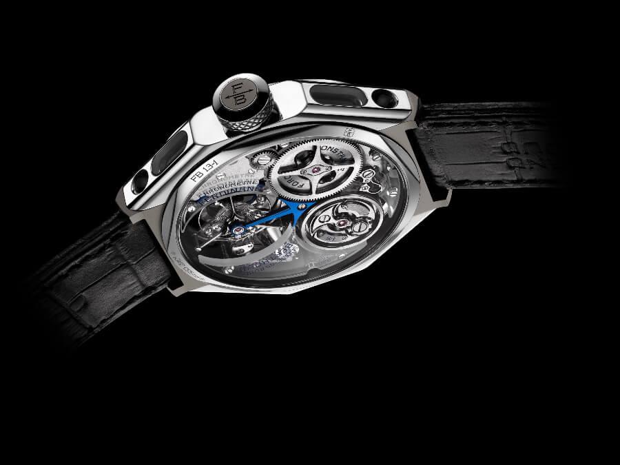 "Ferdinand Berthoud FB 1.3-1 ""Sapphire Blue"" Chronometre Case"