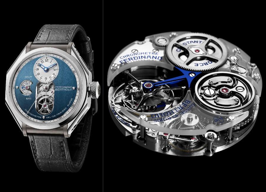 "Ferdinand Berthoud FB 1.3-1 ""Sapphire Blue"" Chronometre Watch Review"