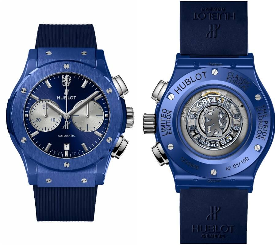 The New Hublot Classic Fusion Chronograph Chelsea FC