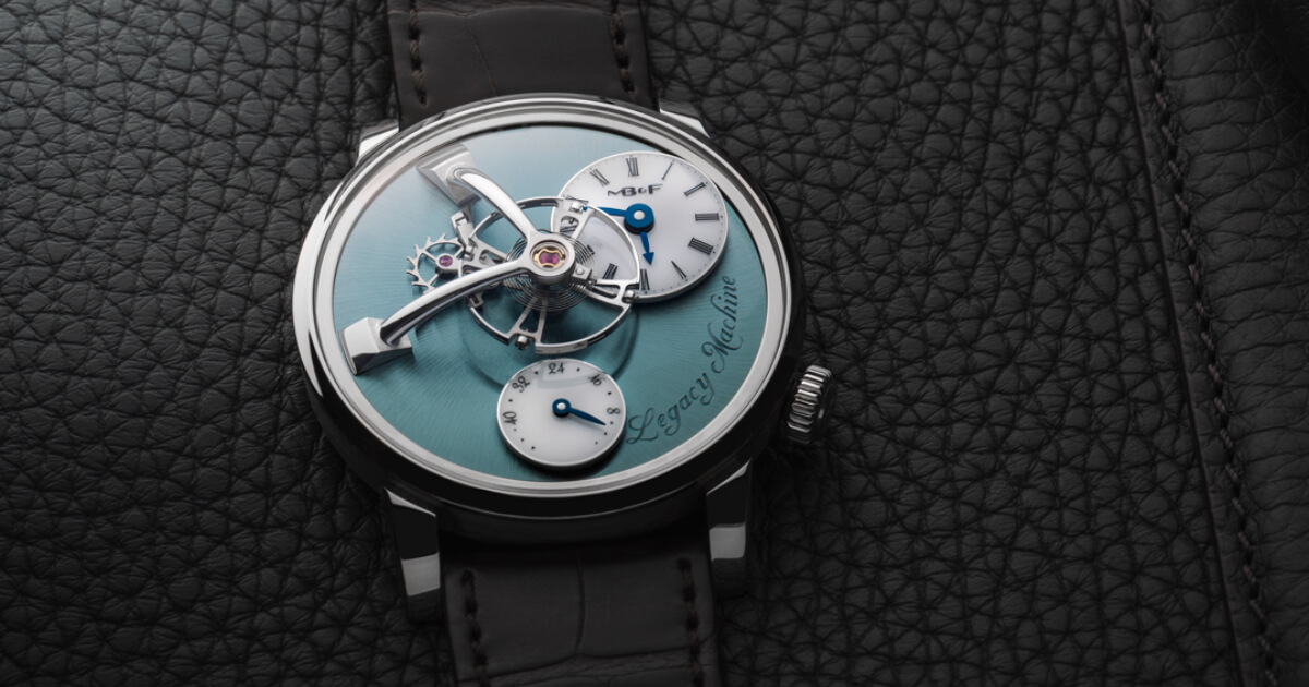 MB&F Legacy Machine 101 Palladium (Price, Pictures and Specifications)