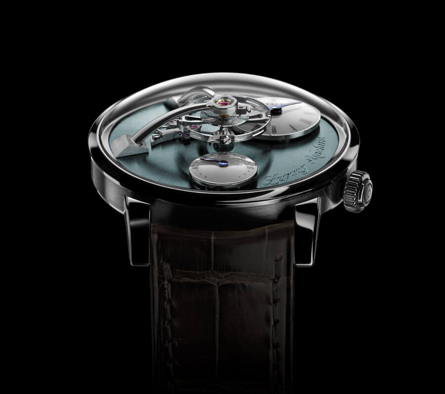 The New MB&F Legacy Machine 101 Palladium