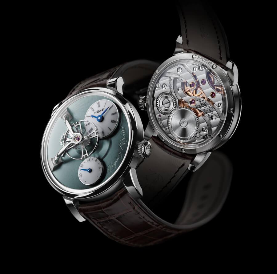 MB&F Legacy Machine 101 Palladium