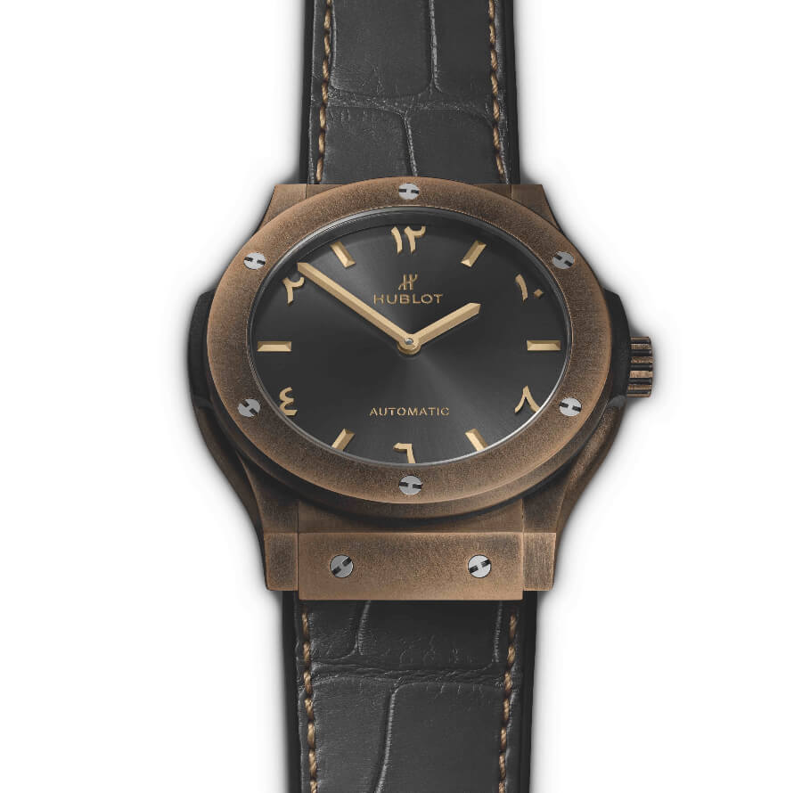 Hublot Classic Fusion Special Edition Bronze Anticlockwise Watch Review