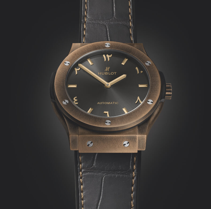 The New Hublot Classic Fusion Special Edition Bronze Anticlockwise Seddiqi UAE
