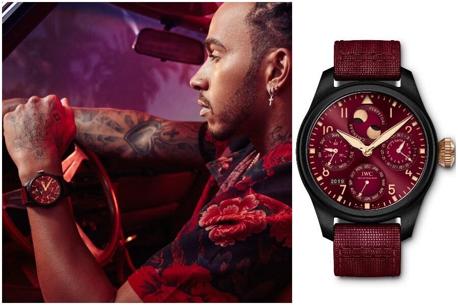 "IWC ""Lewis Hamilton"" Big Pilot's Watch Perpetual Calendar Edition"