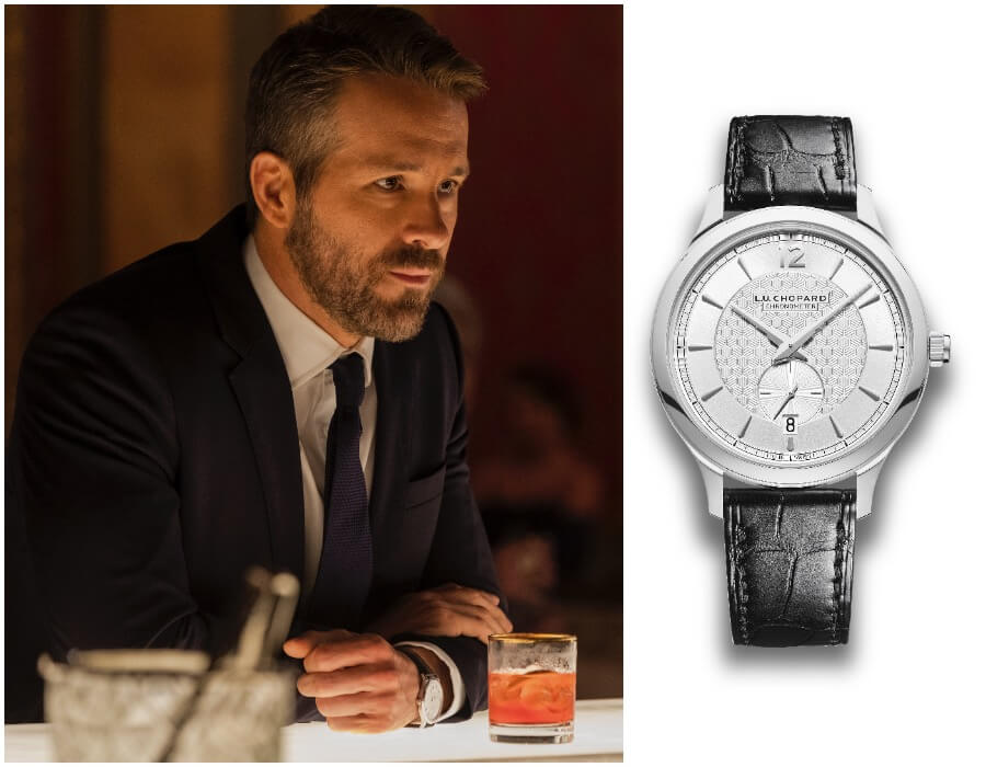 Ryan Reynolds Chopard L.U.C XPS 1860 Officer