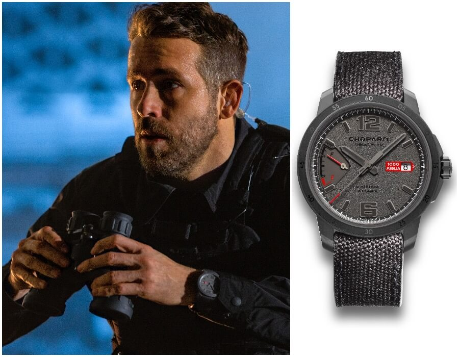 Ryan Reynolds Watch Chopard Mille Miglia GTS Power Control Grigio Speciale