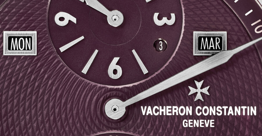 Perpetual calendar watch dial