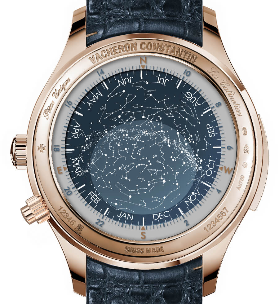 "The New Vacheron Constantin ""La Musique du Temps"" Les Cabinotiers Minute repeater tourbillon sky chart - A celestial note"