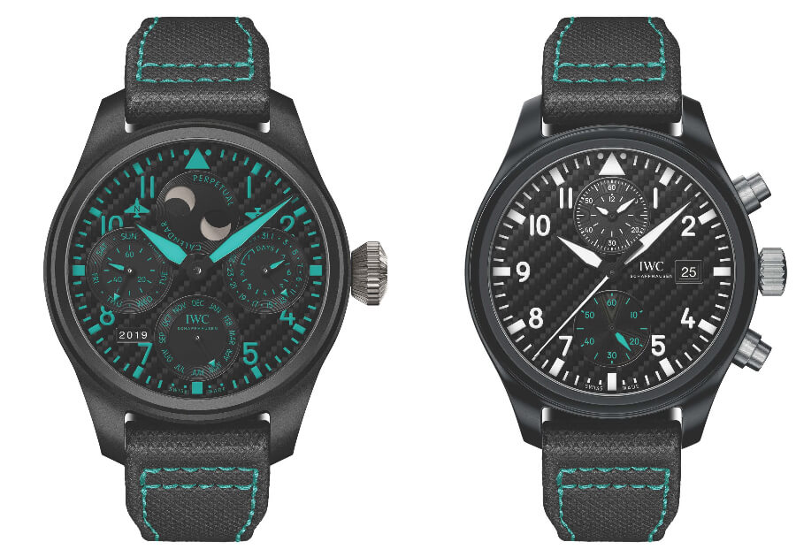 "IWC Big Pilot's Watch Perpetual Calendar Edition ""Mercedes-AMG Petronas Motorsport"" (Ref. IW503003) and Pilot's Watch Chronograph Edition ""Mercedes- AMG Petronas Motorsport"" (Ref. IW389005)"