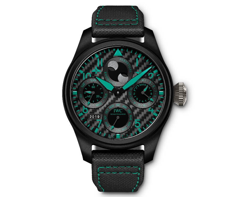 "IWC Big Pilot's Watch Perpetual Calendar Edition ""Mercedes-AMG Petronas Motorsport"""