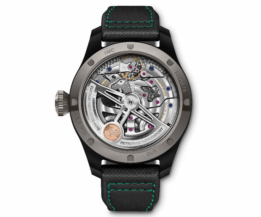 "IWC Big Pilot's Watch Perpetual Calendar Edition ""Mercedes-AMG Petronas Motorsport""  Movement"