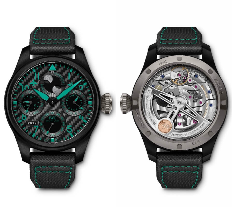 "IWC Big Pilot's Watch Perpetual Calendar Edition ""Mercedes-AMG Petronas Motorsport"" Watch Review"