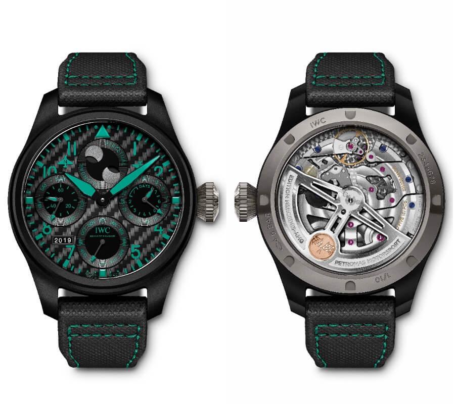 "IWC Big Pilot's Watch Perpetual Calendar Edition ""Mercedes-AMG Petronas Motorsport"" Watch Review"