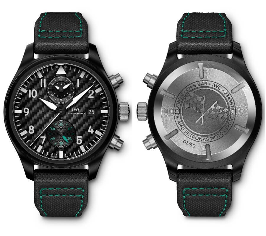"IWC Pilot's Watch Chronograph Edition ""Mercedes-AMG Petronas Motorsport""  Watch Review"
