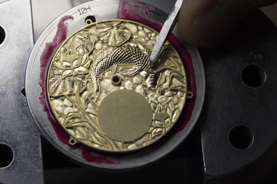 Vacheron Constantin Dial Hand Engraved