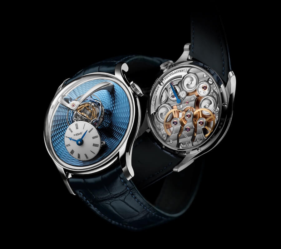 MB&F Legacy Machine Thunderdome Eric Coudray and Kari Voutilainen