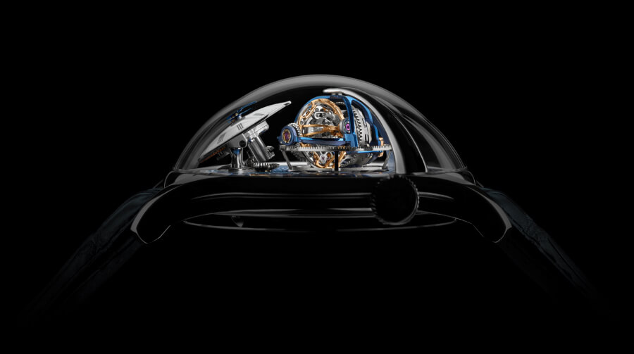 MB&F Legacy Machine Thunderdome Case