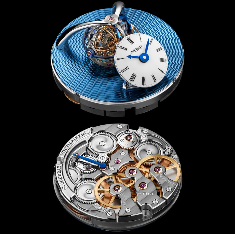 Swiss Hand made movement