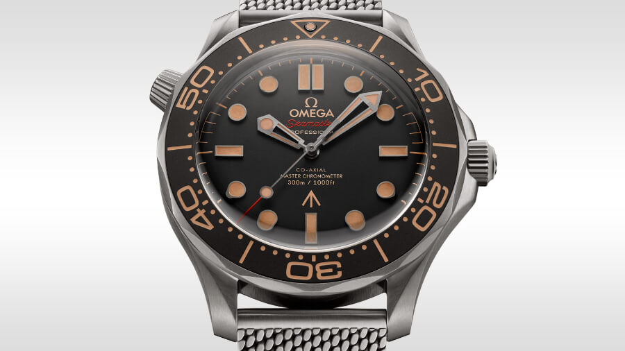 The New Omega Seamaster Diver 300M 007 Edition