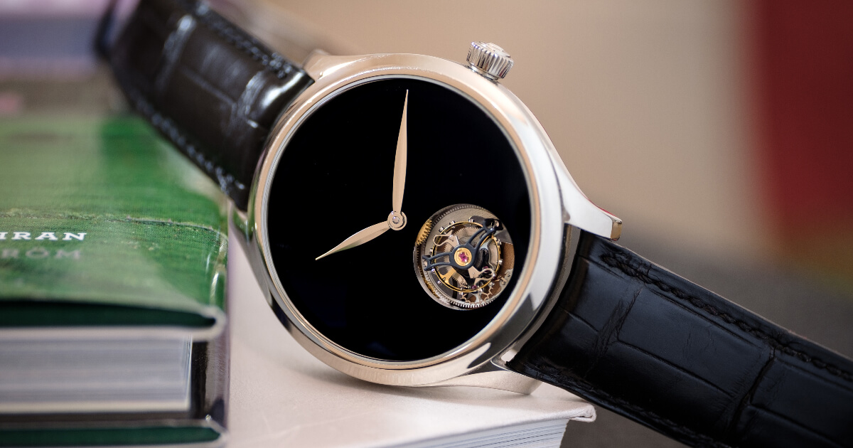 H. Moser & Cie. Endeavour Tourbillon Concept Vantablack (Pictures and Specifications)