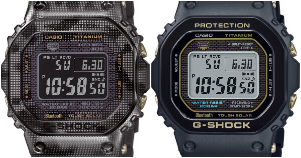 Casio G-Shock Full Titanium Timepiece GMWB5000TB and GMW-B5000TCM - 1 (Price, Pictures and Specifications)