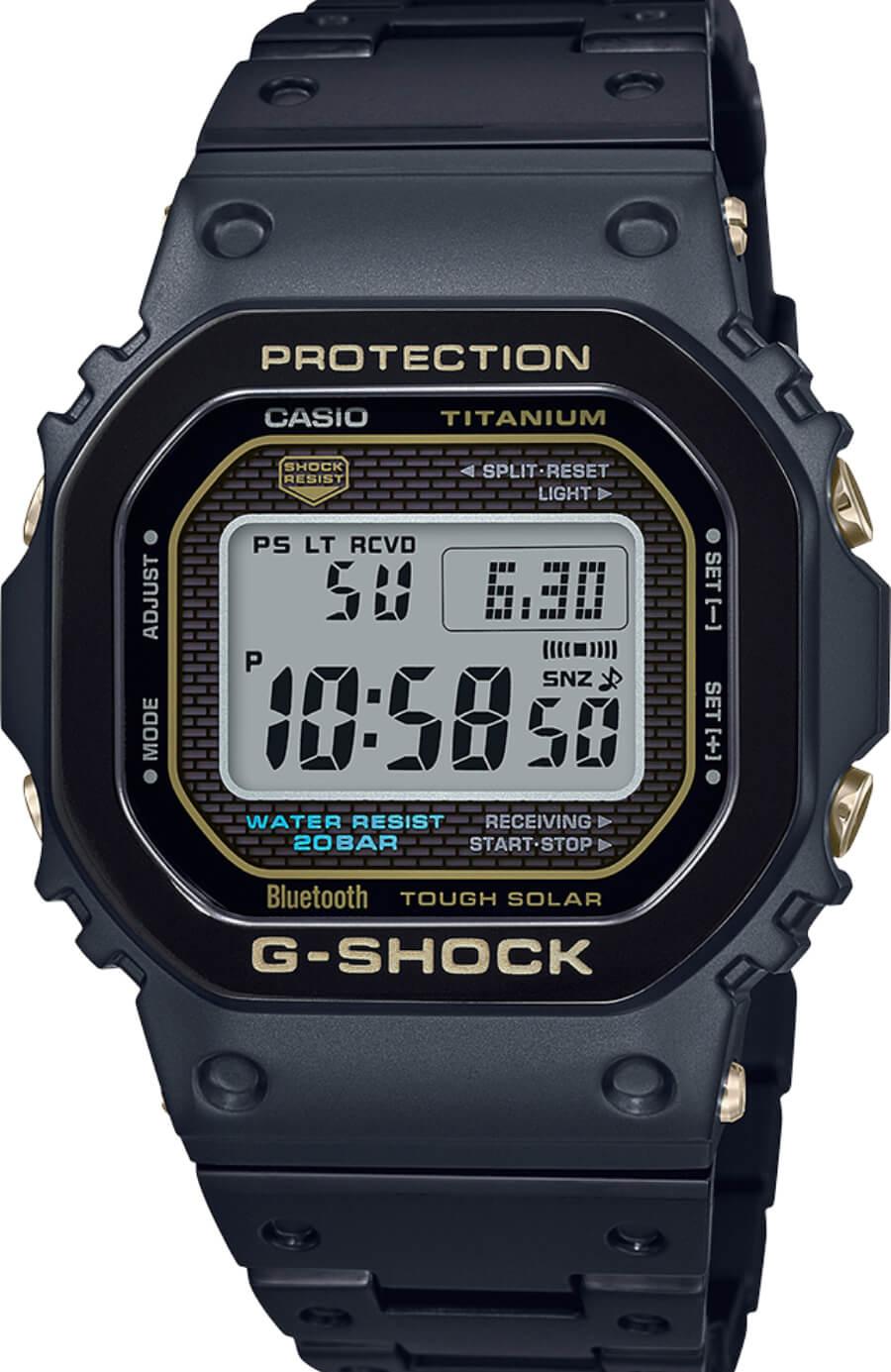 Casio G-Shock Full Titanium GMWB5000TB