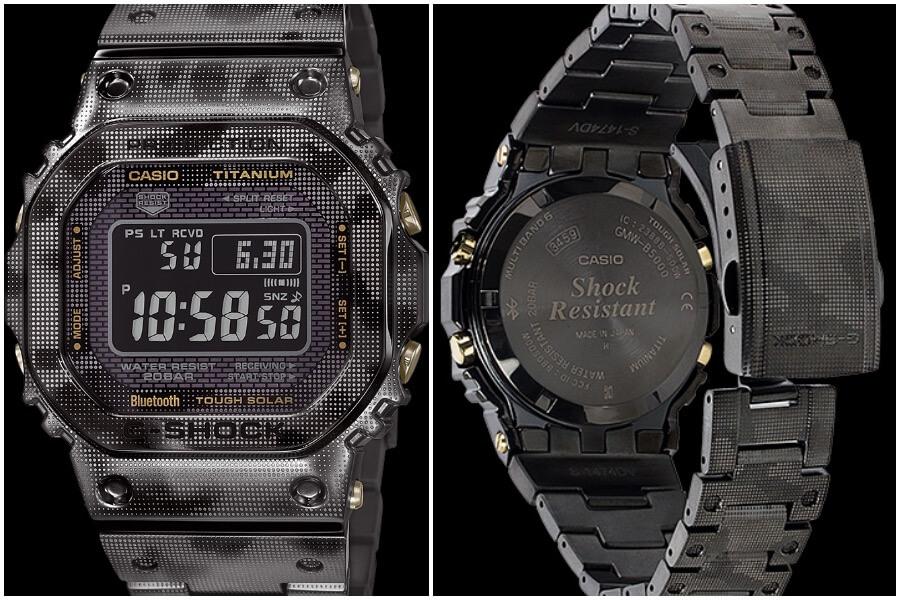 Casio G-Shock Full Titanium GMW-B5000TCM -1 Watch Review