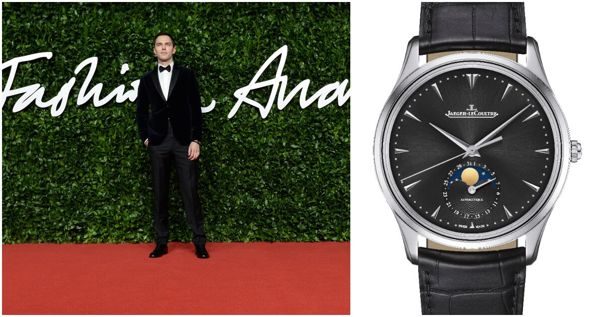 Watch Spotting: Nicholas Hoult Wearing A Jaeger-LeCoultre Master Ultra Thin Moon