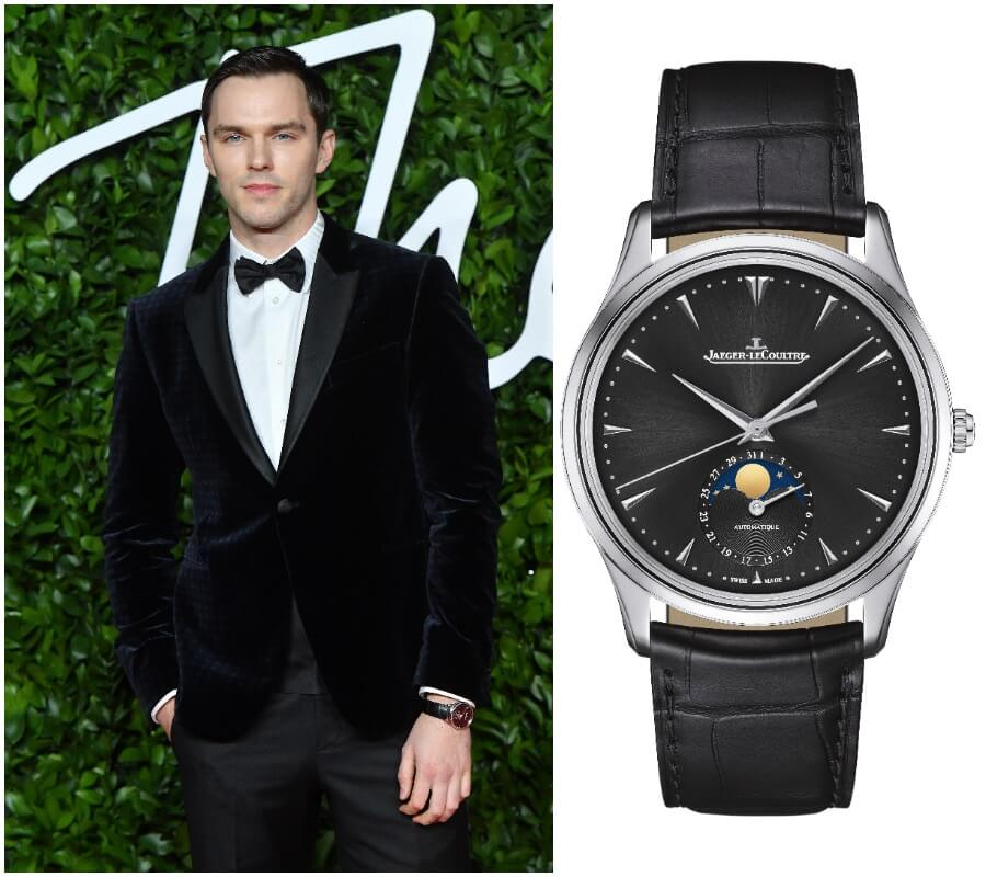 The Watch Of Nicholas Hoult AJaeger-LeCoultre Master Ultra Thin Moon