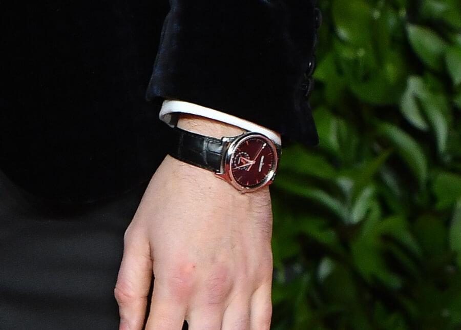 Nicholas Hoult Wearing A Jaeger-LeCoultre Master Ultra Thin Moon The British Actor Attended The Fashion Awards 2019
