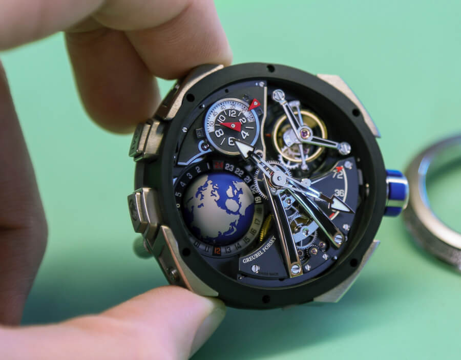 Greubel Forsey GMT Sport Watch Movement