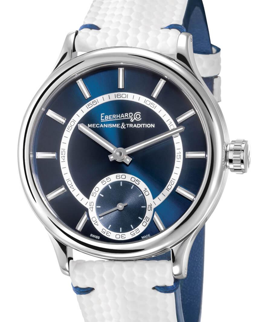 The New Eberhard & Co. Traversetolo In Blue