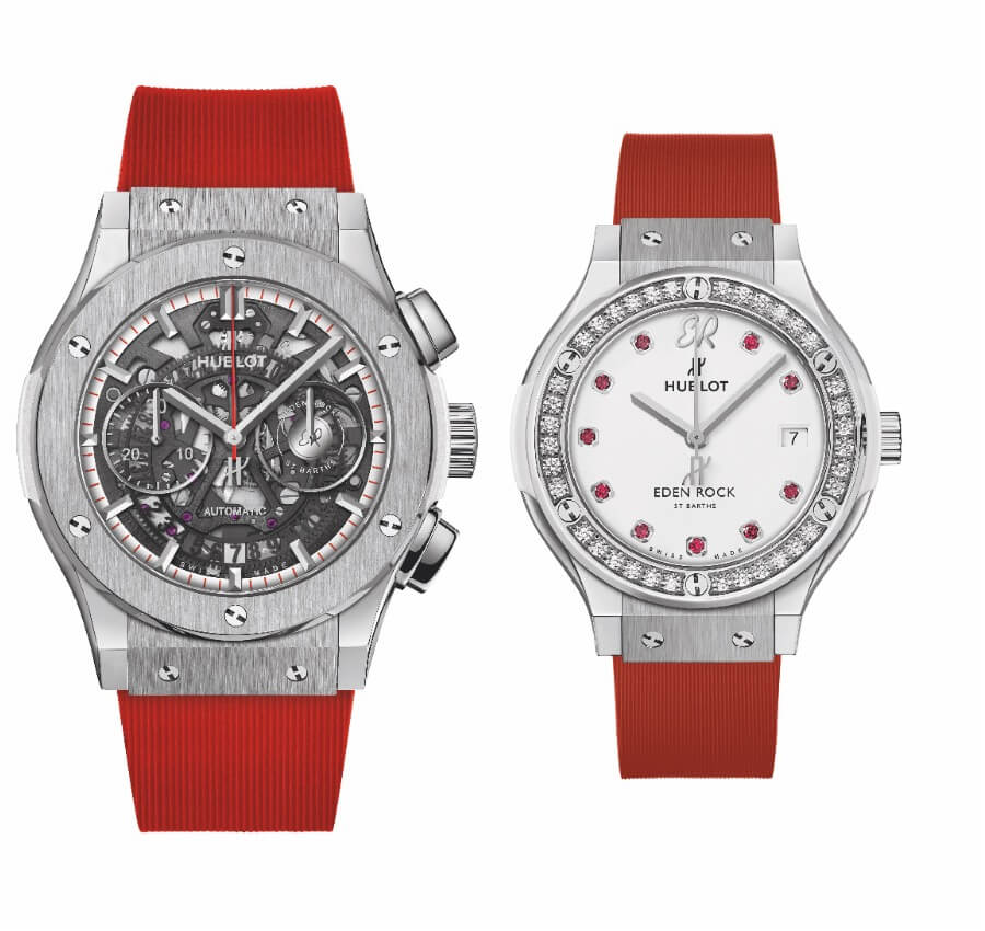 Hublot Classic Fusion & Classic Fusion Aerofusion Chronograph Special Edition Eden Rock St Barths