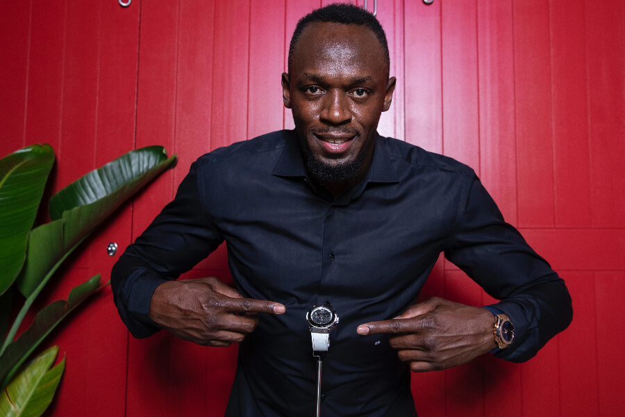 Usain Bolt Hublot Watch