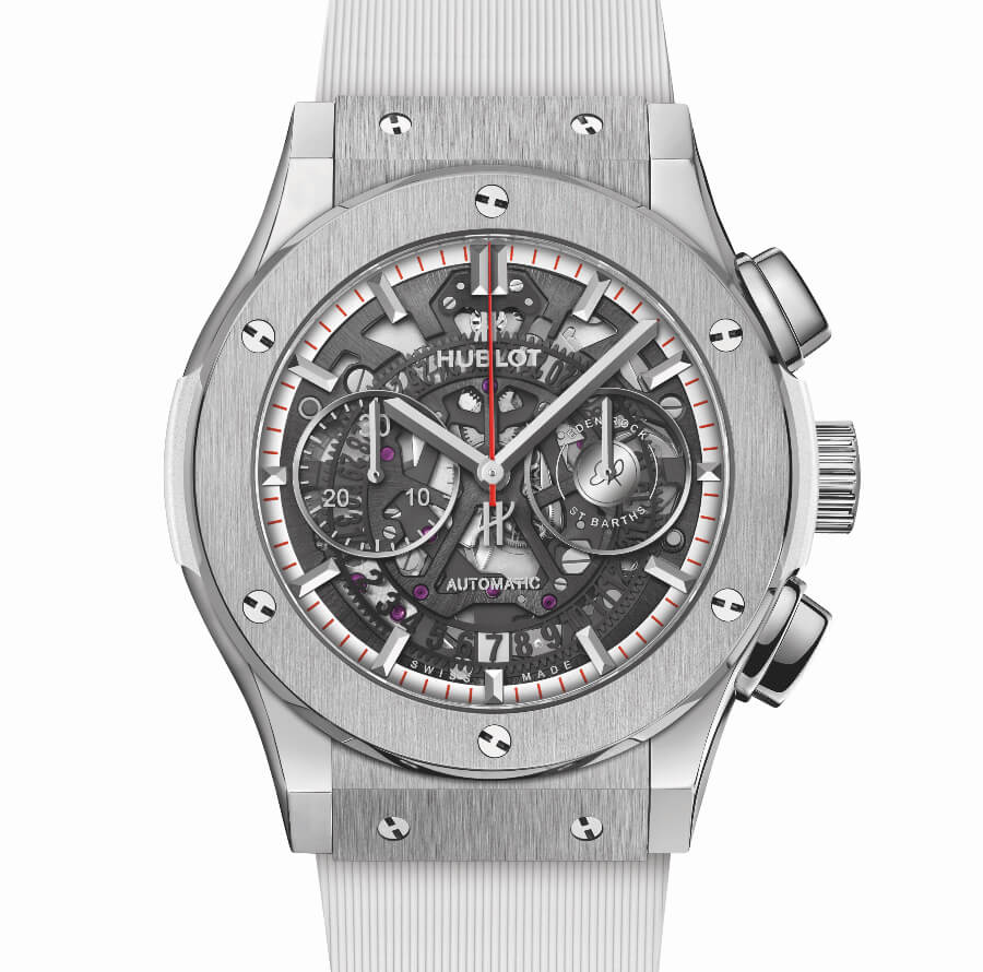 Hublot Classic Fusion Aerofusion Chronograph Special Edition Eden Rock St Barths