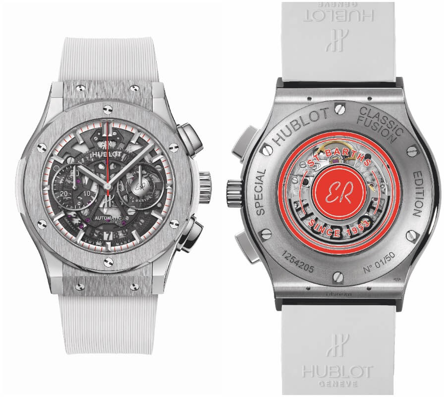 Hublot Classic Fusion Aerofusion Chronograph Special Edition Eden Rock Watch Review